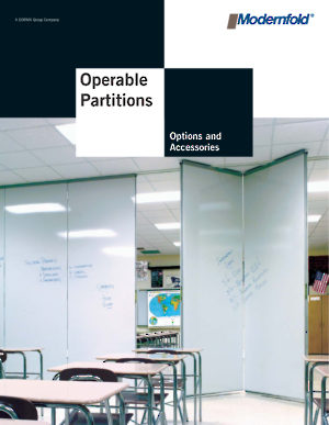 Operable Partitions Options and Accessories