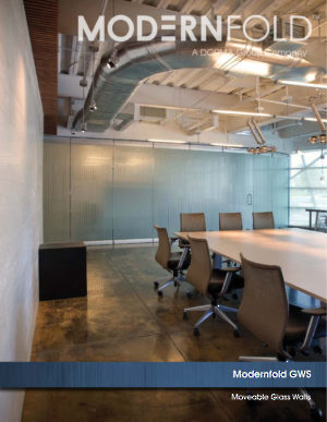 Modernfold Glass Walls Systems Brochure