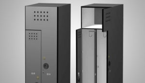 Solid Phenolic Lockers