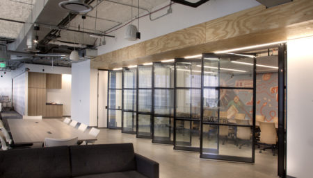 ACOUSTI-CLEAR® Automatic Partitions