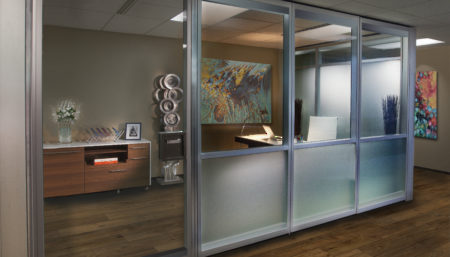 ACOUSTI-CLEAR® Demountable Partitions