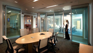 Modernfold Movable Glass Walls
